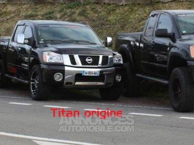 Nissan Titan king cab Texas Edition noir Occasion - 9