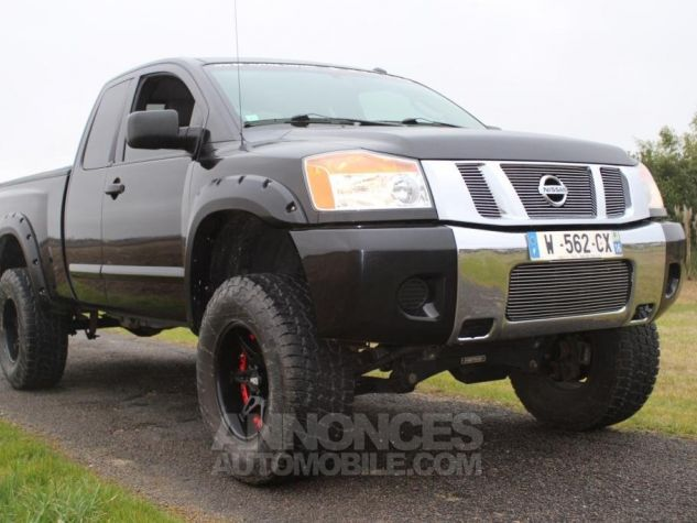 Nissan Titan king cab Texas Edition noir Occasion - 0