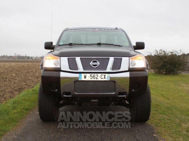 Nissan Titan king cab Texas Edition noir Occasion - 7