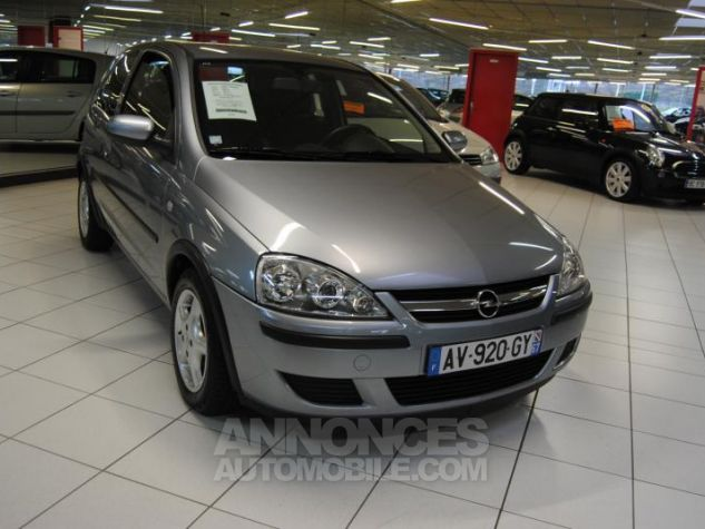 Opel Corsa CDTI Gris Foncé Occasion - 2