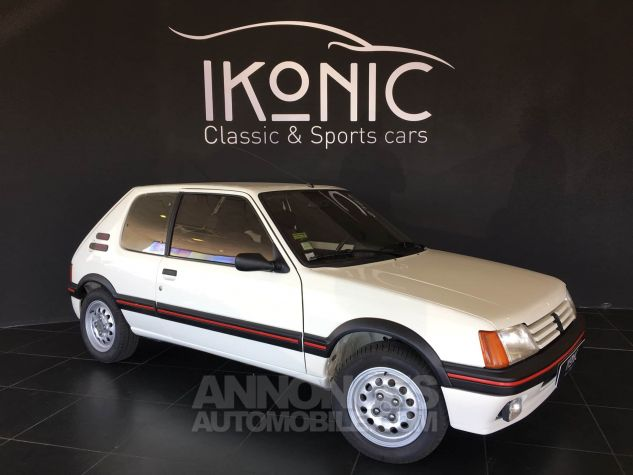 Peugeot 205 GTI Blanche Occasion - 0