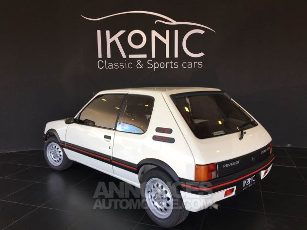 Peugeot 205 GTI Blanche Occasion - 1