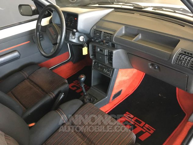 Peugeot 205 GTI Blanche Occasion - 7