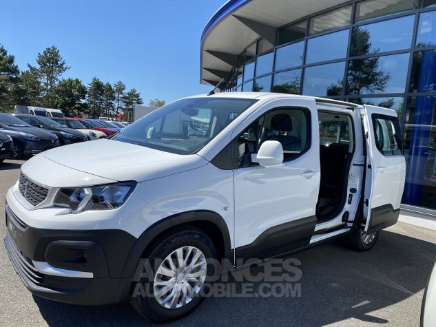 Peugeot Rifter 1.5 BLUEHDI 100 ACTIVE Blanc Neuf - 10