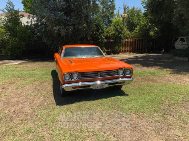 Plymouth Road runner 1969 orange Occasion - 3