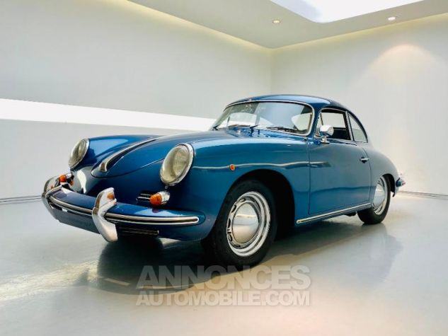 Porsche 356 B COUPE BT5 Bleu Metal Occasion - 0
