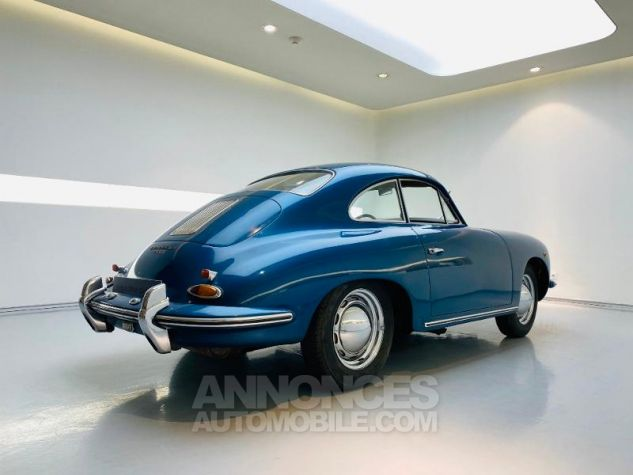 Porsche 356 B COUPE BT5 Bleu Metal Occasion - 2