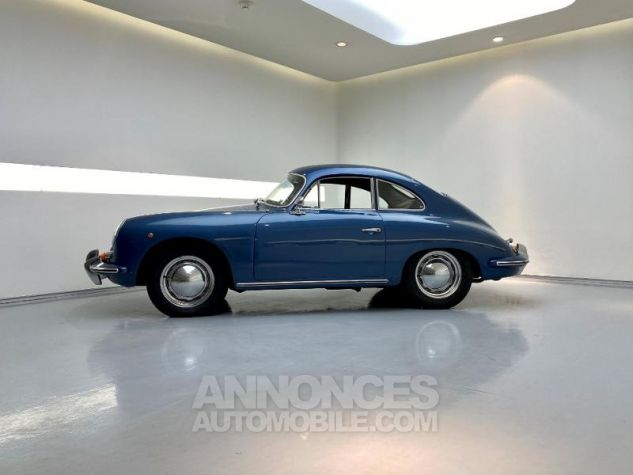 Porsche 356 B COUPE BT5 Bleu Metal Occasion - 3