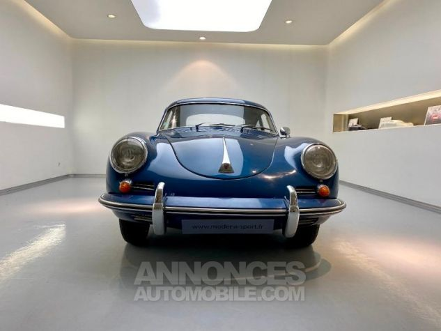 Porsche 356 B COUPE BT5 Bleu Metal Occasion - 5