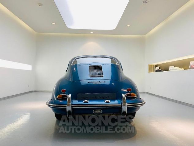 Porsche 356 B COUPE BT5 Bleu Metal Occasion - 6