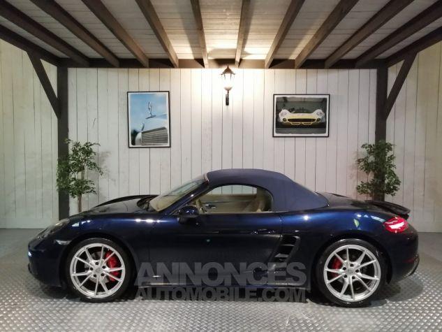 Porsche 718 BOXSTER S 350 CV Bleu Occasion - 1