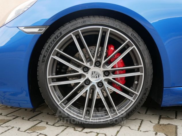 Porsche 718 Boxster S PDK, Chrono, BOSE, ACC, Caméra, LED Bleu Saphir métallisé Occasion - 10