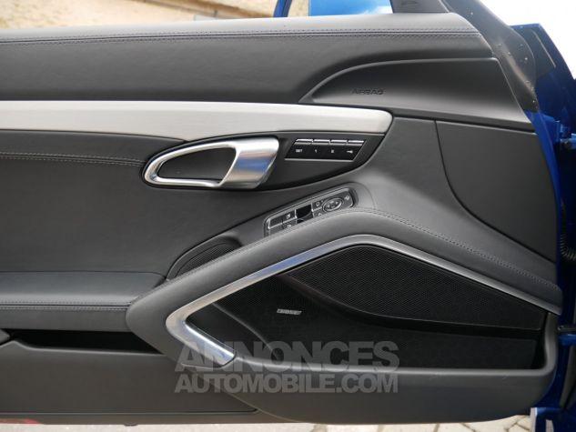 Porsche 718 Boxster S PDK, Chrono, BOSE, ACC, Caméra, LED Bleu Saphir métallisé Occasion - 12