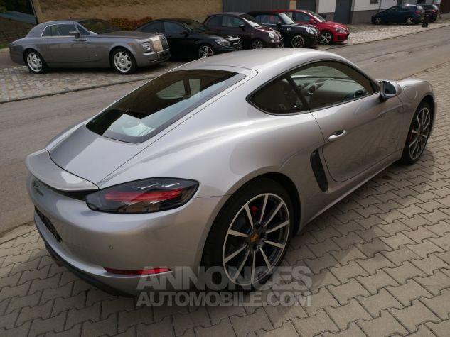 Porsche 718 Cayman PDK, Pack Carbone, Xénon PDLS, Navi, Connect Plus Argent GT métallisé Occasion - 3