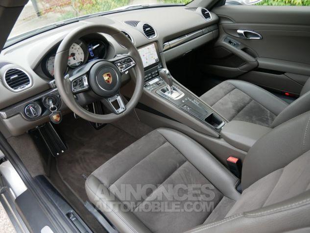 Porsche 718 Cayman PDK, Pack Carbone, Xénon PDLS, Navi, Connect Plus Argent GT métallisé Occasion - 5