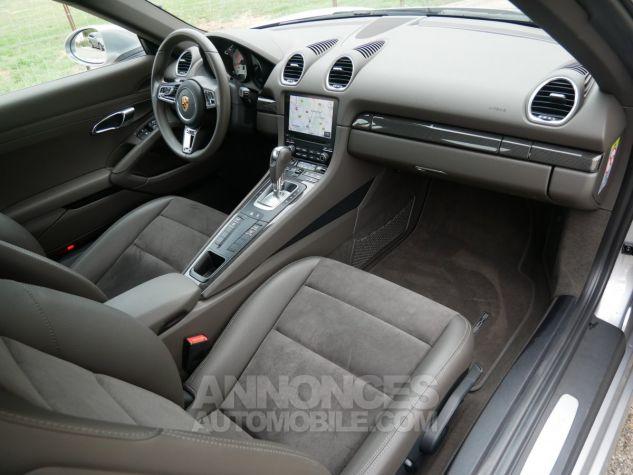 Porsche 718 Cayman PDK, Pack Carbone, Xénon PDLS, Navi, Connect Plus Argent GT métallisé Occasion - 6