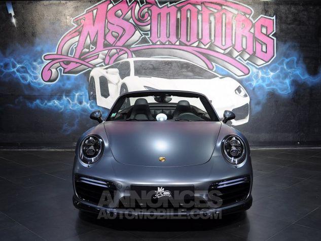 Porsche 911 (2) TURBO S CAB 580 GRIS MAT Occasion - 2