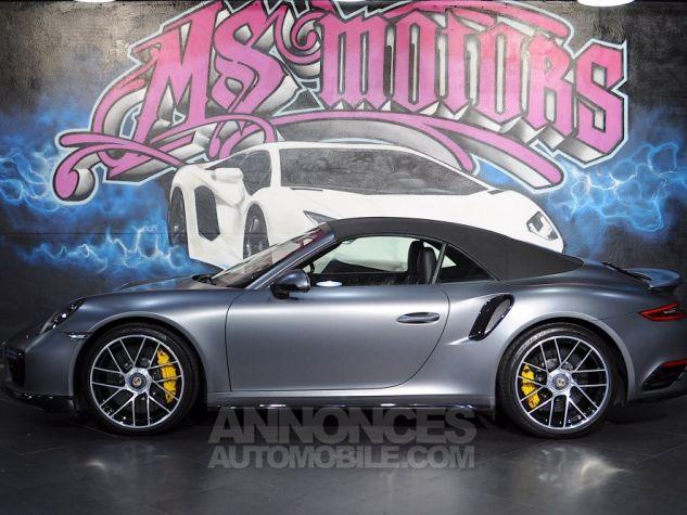 Porsche 911 (2) TURBO S CAB 580 GRIS MAT Occasion - 4