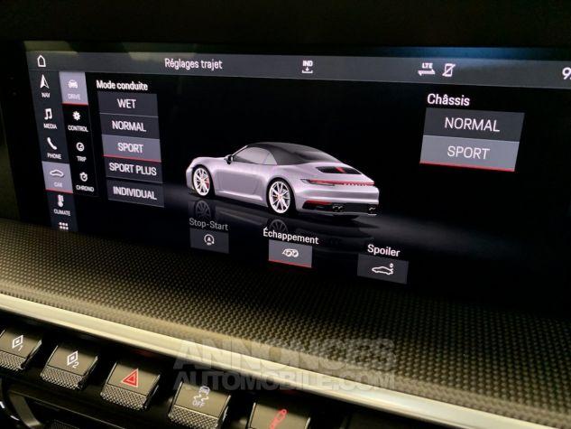 Porsche 911 911 TYPE 992 CARRERA 4S CABRIOLET 450CV PDK MATRIX LED NOIR Occasion - 18