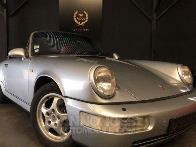Porsche 911 964 Carrera 2 Etat Concours GRIS Occasion - 17