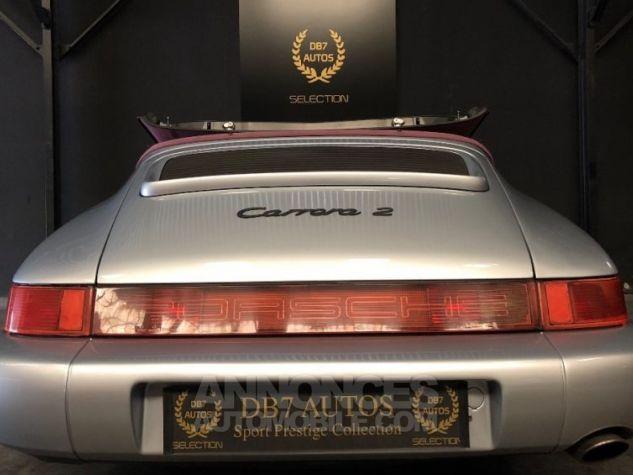 Porsche 911 964 Carrera 2 Etat Concours GRIS Occasion - 18