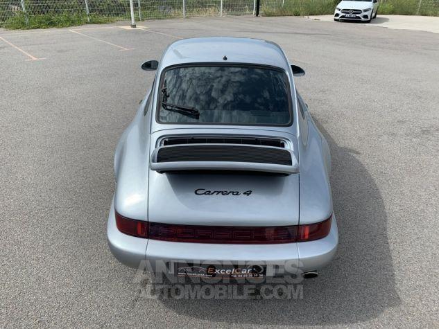 Porsche 911 (964) COUPE CARRERA 4 ARGENT METAL Occasion - 8