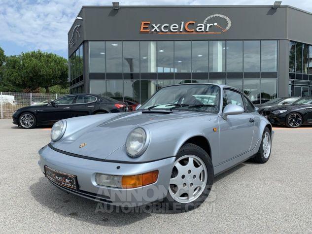 Porsche 911 (964) COUPE CARRERA 4 ARGENT METAL Occasion - 1