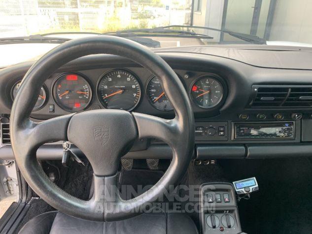 Porsche 911 (964) COUPE CARRERA 4 ARGENT METAL Occasion - 12