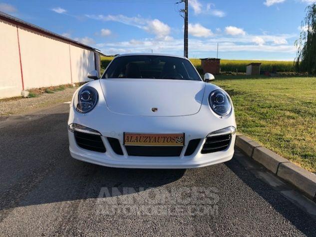 Porsche 911 991 CARRERA 4S PDK BLANC Occasion - 3
