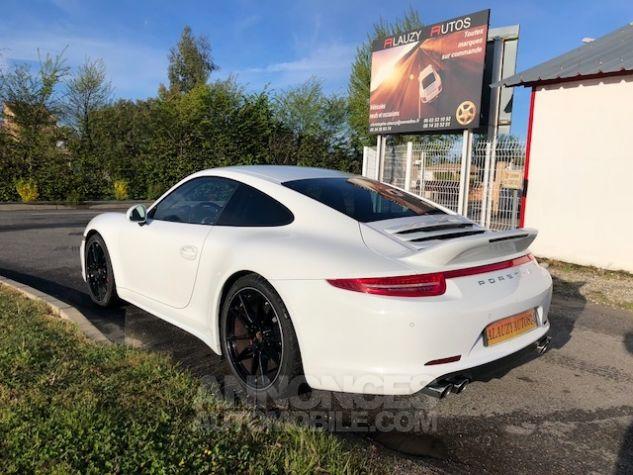 Porsche 911 991 CARRERA 4S PDK BLANC Occasion - 4