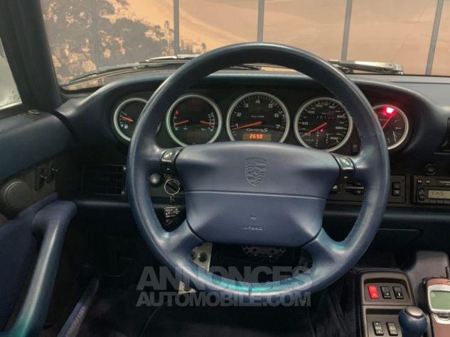 Porsche 911 993 CARRERA S CARNET COMPLET GRIS Occasion - 15