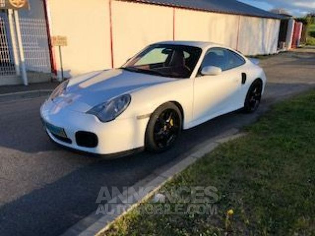 Porsche 911 996 420CH TURBO TIPTRONIC S BLANC Occasion - 1