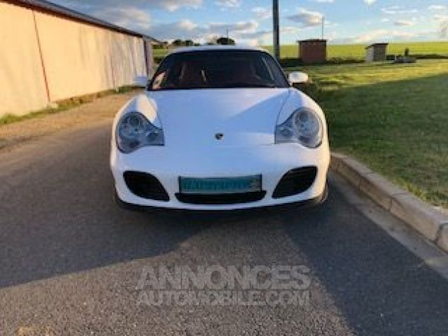 Porsche 911 996 420CH TURBO TIPTRONIC S BLANC Occasion - 2