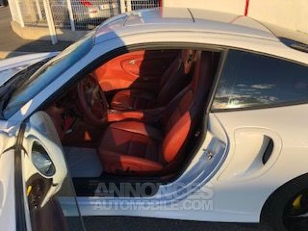 Porsche 911 996 420CH TURBO TIPTRONIC S BLANC Occasion - 8