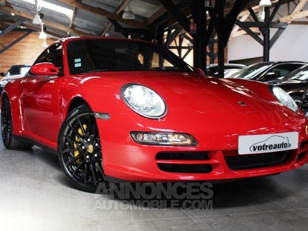 Porsche 911 (997) 3.8 355 CARRERA 4S Rouge Indien Occasion - 0