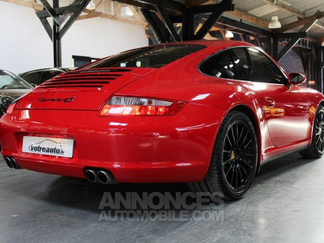 Porsche 911 (997) 3.8 355 CARRERA 4S Rouge Indien Occasion - 1