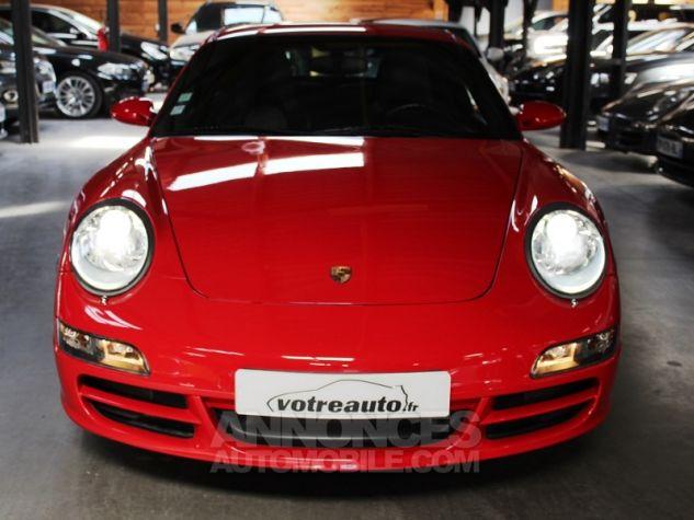 Porsche 911 (997) 3.8 355 CARRERA 4S Rouge Indien Occasion - 3