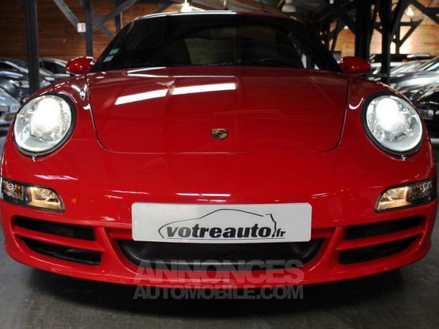 Porsche 911 (997) 3.8 355 CARRERA 4S Rouge Indien Occasion - 5