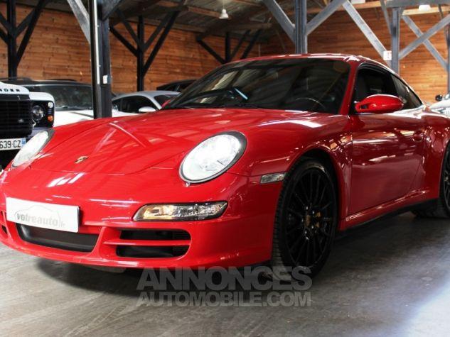 Porsche 911 (997) 3.8 355 CARRERA 4S Rouge Indien Occasion - 7