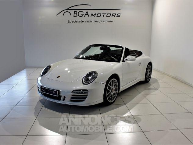 Porsche 911 CABRIOLET (997) CARRERA 4 GTS PDK Blanc Occasion - 0