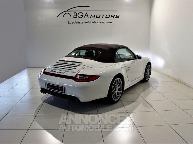 Porsche 911 CABRIOLET (997) CARRERA 4 GTS PDK Blanc Occasion - 2