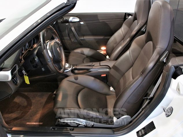 Porsche 911 CABRIOLET (997) CARRERA 4 GTS PDK Blanc Occasion - 4
