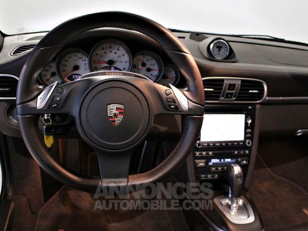 Porsche 911 CABRIOLET (997) CARRERA 4 GTS PDK Blanc Occasion - 10