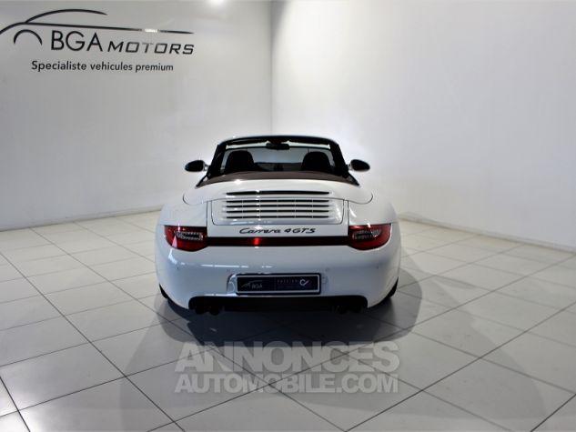 Porsche 911 CABRIOLET (997) CARRERA 4 GTS PDK Blanc Occasion - 16