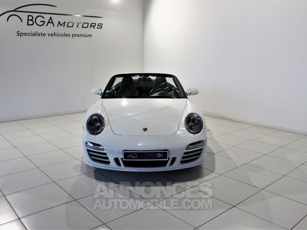 Porsche 911 CABRIOLET (997) CARRERA 4 GTS PDK Blanc Occasion - 18