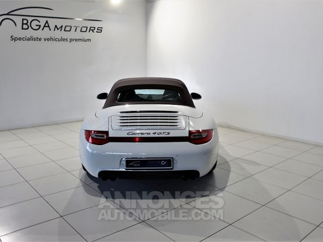 Porsche 911 CABRIOLET (997) CARRERA 4 GTS PDK Blanc Occasion - 19