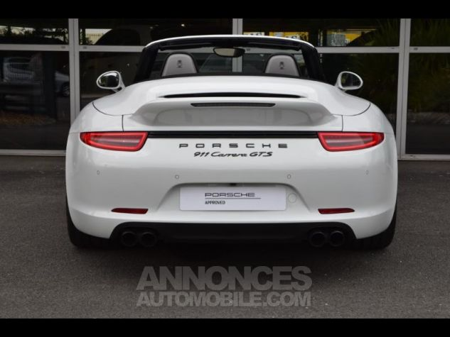 Porsche 911 Carrera GTS Cabriolet 0Q-Blanc Occasion - 8