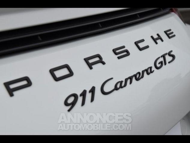 Porsche 911 Carrera GTS Cabriolet 0Q-Blanc Occasion - 14