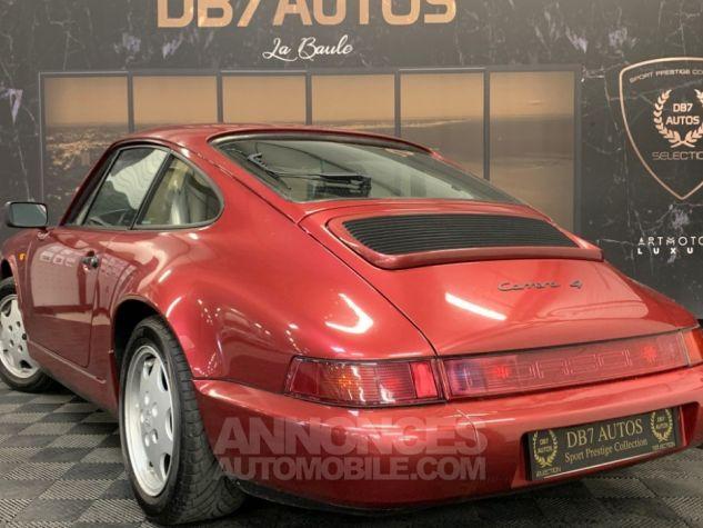 Porsche 911 Coupe Carrera 4 BORDEAU Occasion - 2