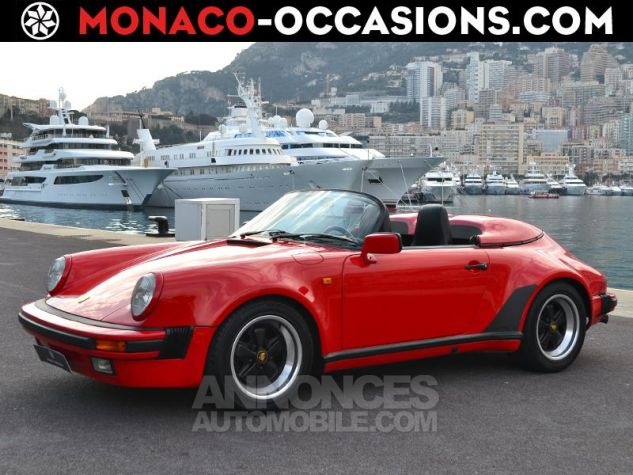 Porsche 911 Speedster 911 turbo look Rouge Occasion - 0